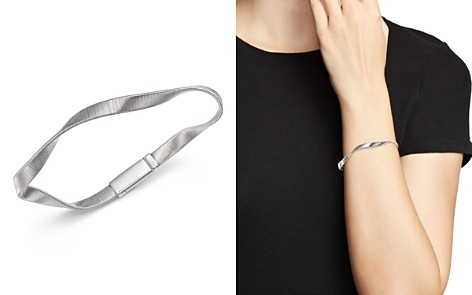 Marco Bicego 18K White Gold Marrakech Supreme Ribbed Twisted Bracelet - Bloomingdale's_2